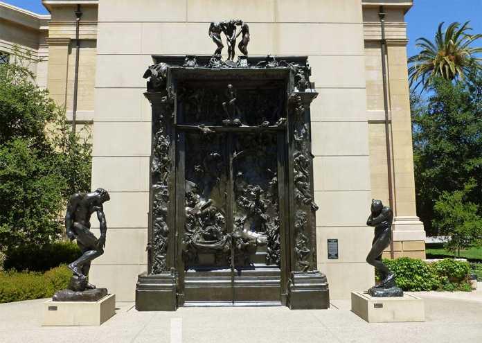 puerta del infierno del museo rodin de paris
