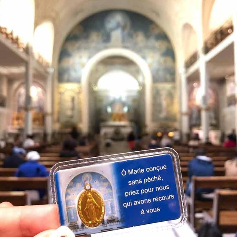 capilla de la medalla milagrosa paris