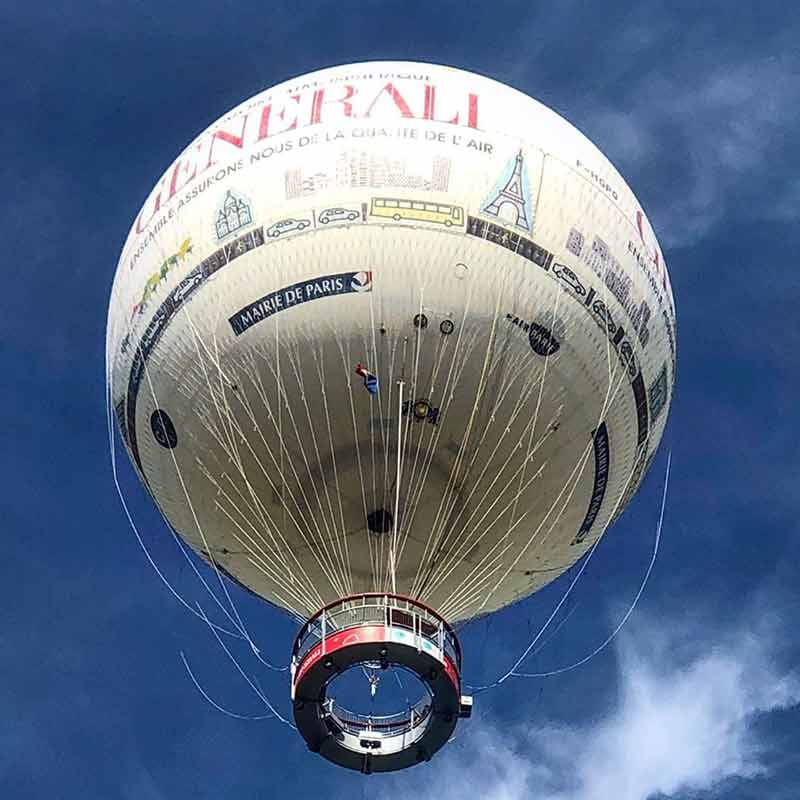 globo aerostatico paris