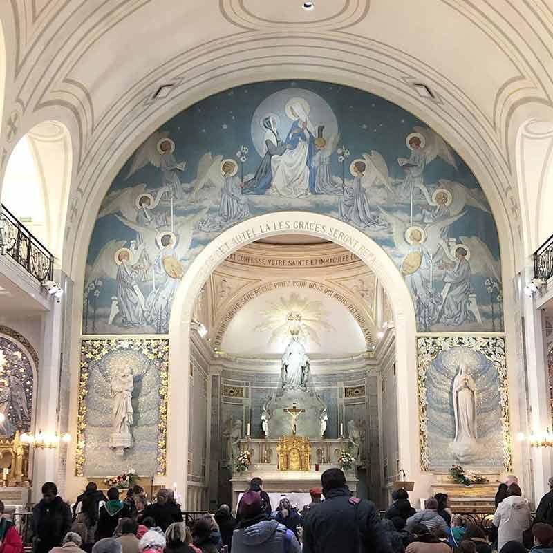 iglesia de la medalla milagrosa paris