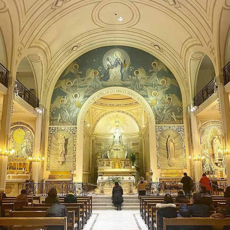 iglesia medalla milagrosa paris
