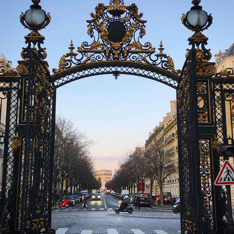 parque monceau paris francia