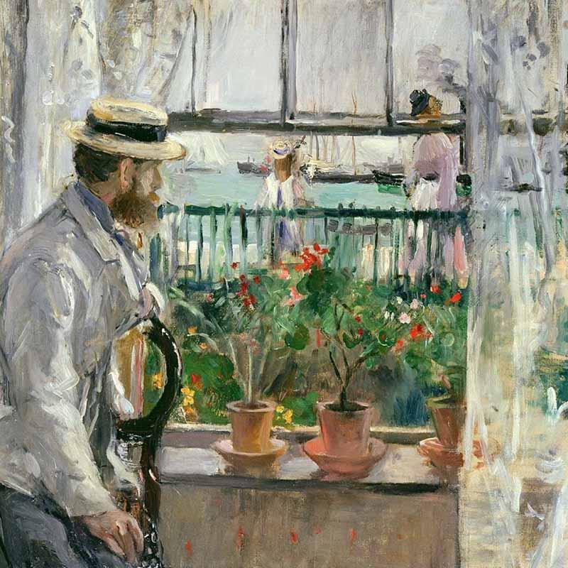 Eugène Manet à l'île de Wight