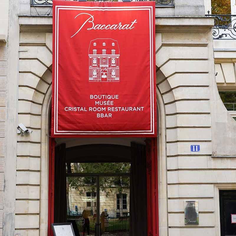 adonde queda el museo de cristal de paris