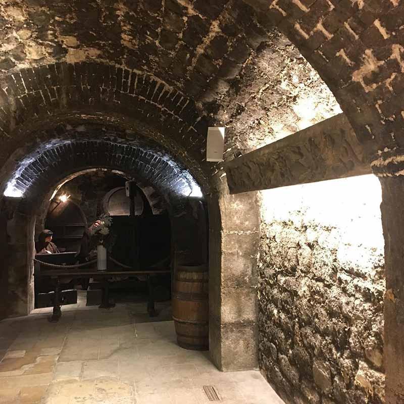 bodegas del museo del vino