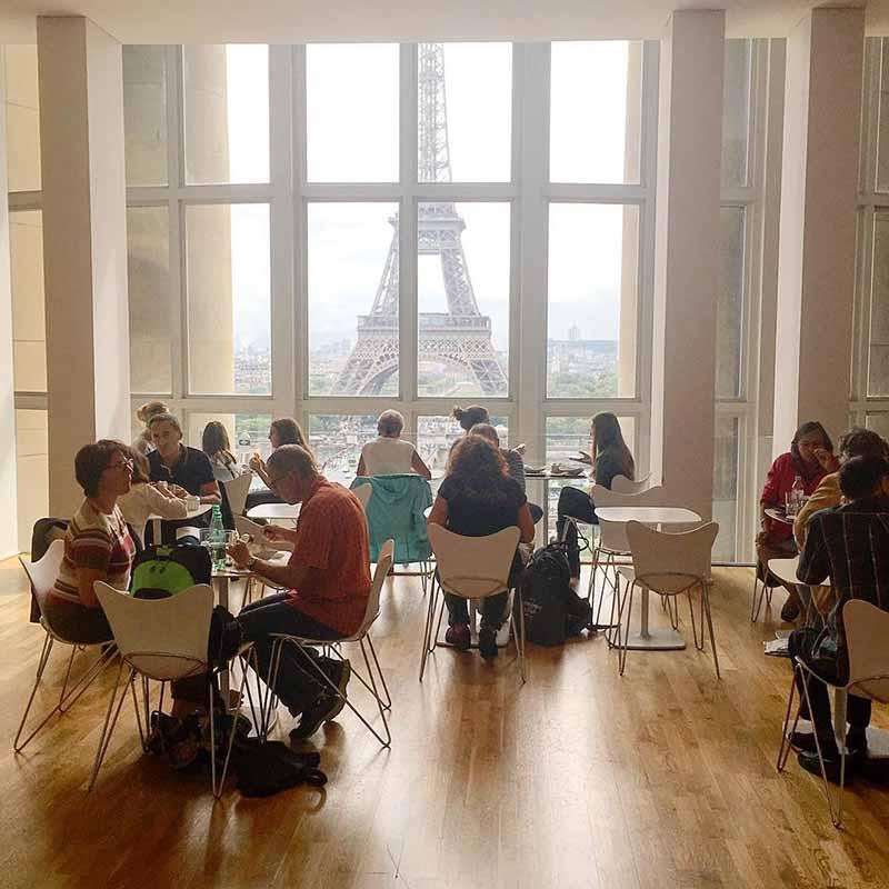 cafeteria museo del hombre de paris