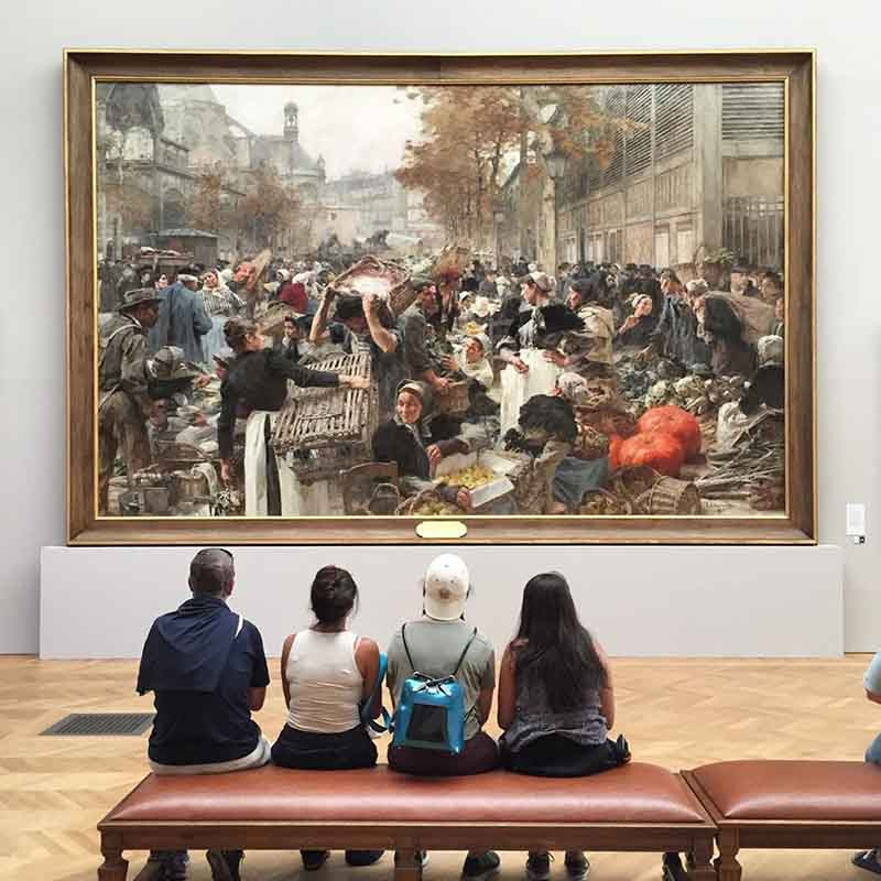 como llegar al museo de bellas arte d de paris