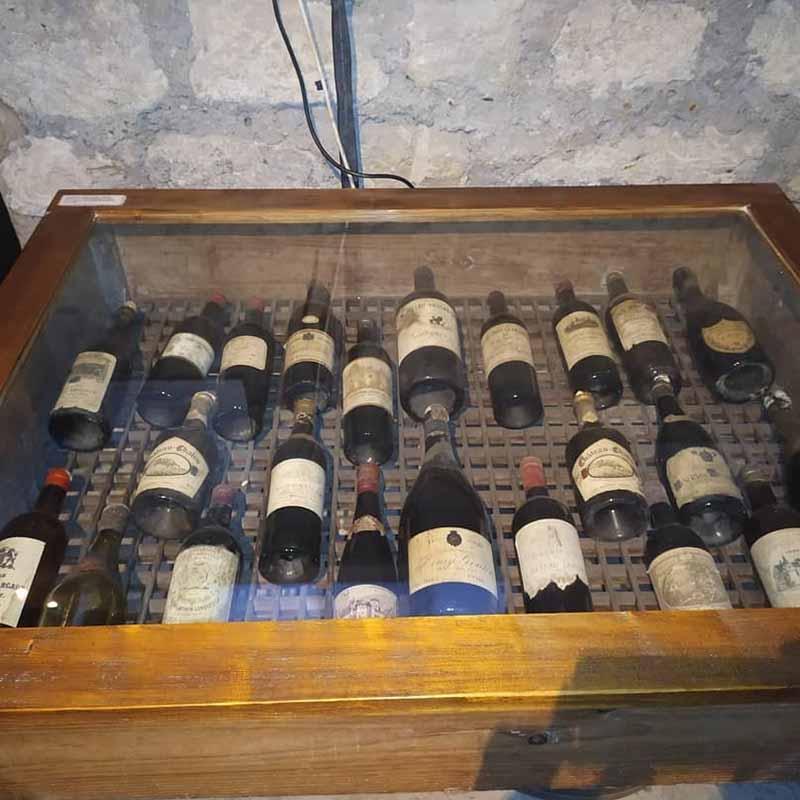 comprar vino en el museo