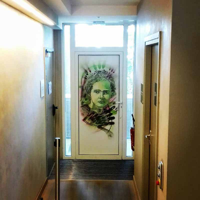 entrada musée curie