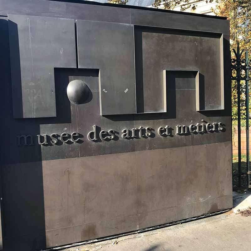 entrada museo de artes y oficios de paris