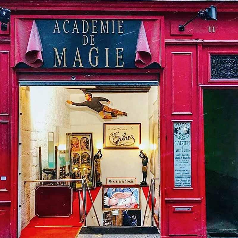 entrada museo de la magia