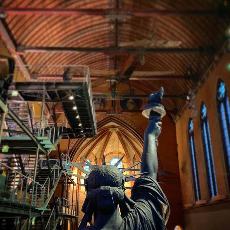 estatua de la libertad museo de artes y oficios