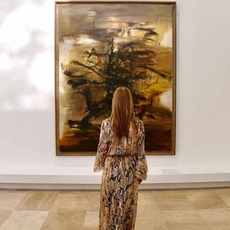obras de arte moderno en paris