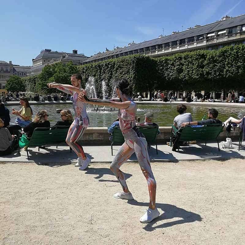 adonde queda los jardines del palacio real paris