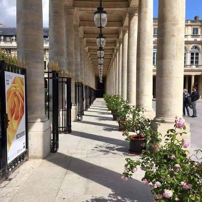 como llegar a los jardines del palacio real de paris