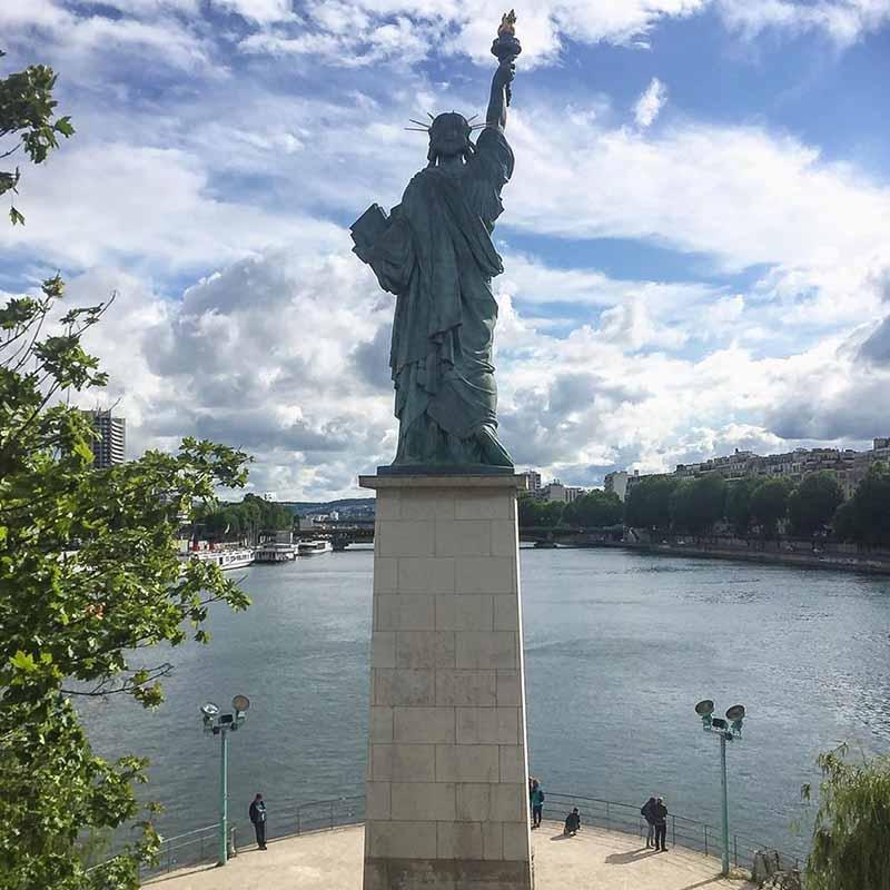 estatua de la libertad original