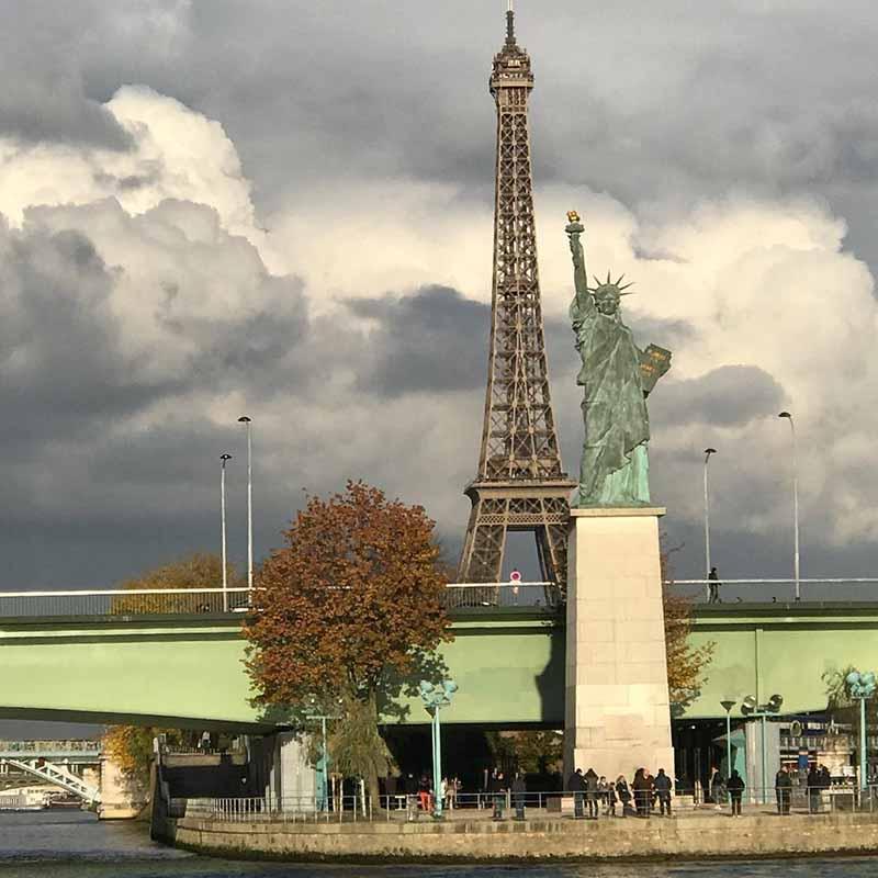 estatua de la libertad paris historia