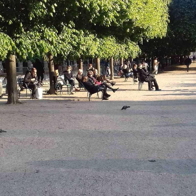 horarios de los jardines del palacio real de paris