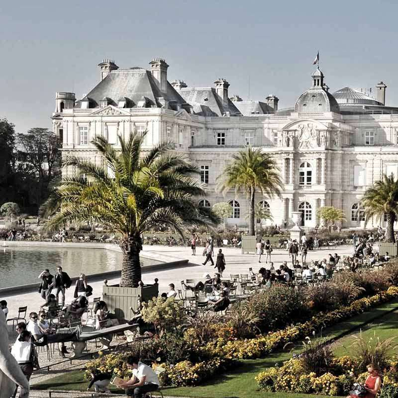 jardines del luxemburgo paris