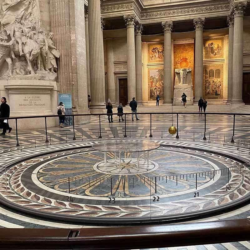 pendulo panthéon paris