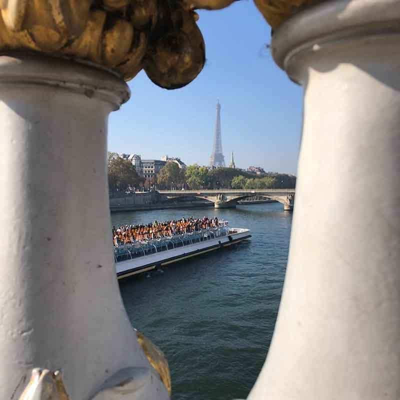 puente de alejandro iii paris fotos